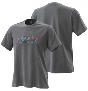 Camiseta KTM Radical Logo Tee Grey 2020