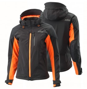 Chaqueta Mujer KTM Woman Two 4 Ride Jacket Black / Orange