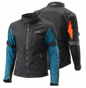 Chaqueta Mujer KTM Woman Street Evo Jacket Blue / Orange