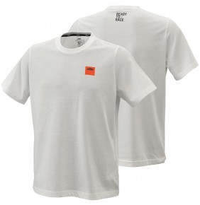 Camiseta KTM Pure Racing Tee White 2021