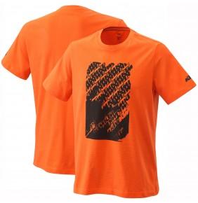 Camiseta KTM Radical Logo Tee Orange 2021