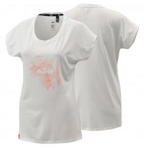Camiseta Chica KTM Women Style Tee White 2021
