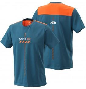 Camiseta KTM Pure Style Tee Blue 2021
