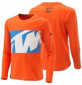 Camiseta manga larga de niño KTM Radical Tee 2021