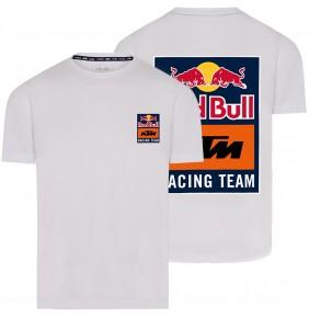 Camiseta Red Bull KTM Racing Team Backprint White