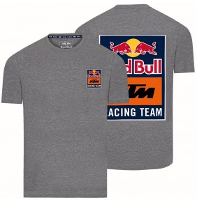 Camiseta Red Bull KTM Racing Team Backprint Grey