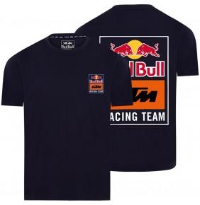 Camiseta Red Bull KTM Racing Team Backprint Navy