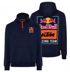 Sudadera Capucha Red Bull KTM Racing Team Backprint Navy