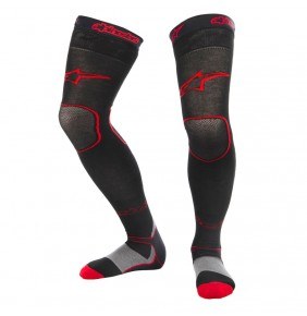 Calcetines Alpinestars Long MX Socks Black Red