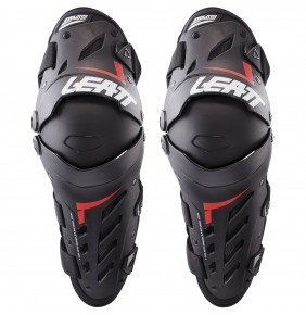 Rodilleras Articuladas Leatt Dual Axis Black / Red