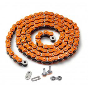 Cadena de Retenes KTM Z-Ring Naranja 5/8 X 1/4 ( 520 )