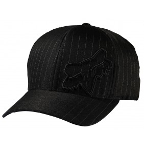 Gorra Fox Flex 45 Flexfit Black Pinstripe