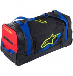 Maleta Alpinestars Komodo Travel Bag Black / Blue / Red / Yellow Fluo