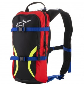 Camelback Alpinestars Iguana Hydration Back Pack Blue / Red / Yellow Fluo