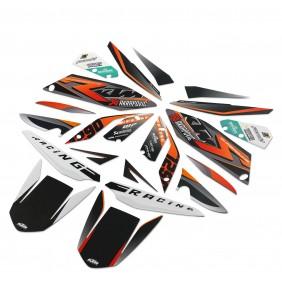 Juego de Adhesivos KTM '' Racing ''