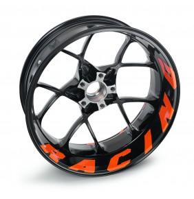 Juego Adhesivos para Llantas KTM '' Racing '' Naranja