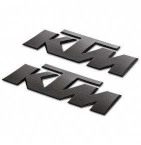 Adhesivos KTM 3D Sticker Black