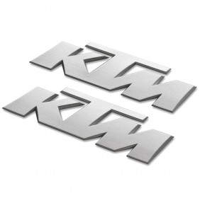 Adhesivos KTM 3D Sticker Silver