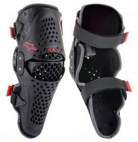Rodilleras Articuladas Alpinestars SX-1 V2 Black / Red