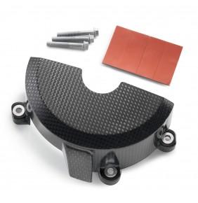 Protector Tapa de Encendido en Carbono KTM