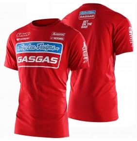 Camiseta Gas Gas Troy Lee Designs Team Tee Red