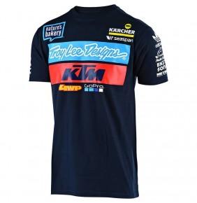 Camiseta KTM Troy Lee Designs Team Navy