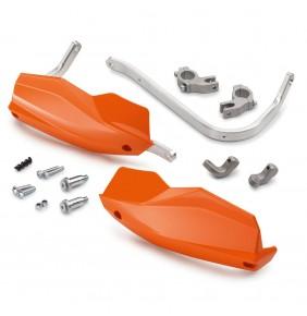 Cubremanos en Aluminio KTM Naranjas
