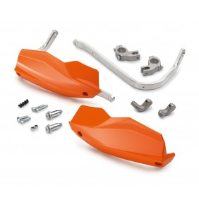 Paramanos en Aluminio KTM Naranjas