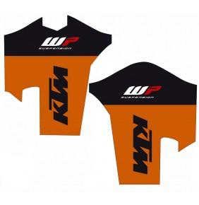 Juego de Adhesivos Protectores de Horquilla KTM