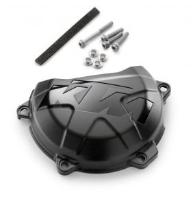 Protector Tapa de Embrague KTM 450/500 EXC-F 2017-2020 - KTM 450 SX-F 2016-2020 Negro