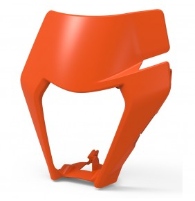 Máscara Portafaro KTM EXC / XC-W 2020 Naranja