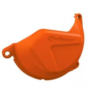 Protector Tapa Discos Embrague KTM SX-F 450/500 13-15 EXC-F 450/500 12-16 Naranja