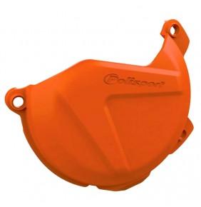 Protector Tapa Discos Embrague KTM SX-F 250/350 13-15 EXC-F 250/350 14-16 FREERIDE 350 13-17 Naranja