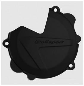 Protector Tapa Discos Embrague Polisport KTM 250/300 SX/EXC 2013-2016 FREERIDE 250 R 2014-2017 Husqvarna TE/TC 250/300 2014-16 Negro.