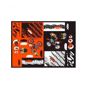 Adhesivos KTM Team Graphic Sticker Sheet 2021