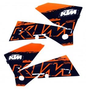 Adhesivos Tapas Depósito KTM EXC 2007