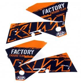 Adhesivos Tapas Depósito KTM EXC Factory 2007