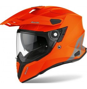 Casco Airoh Commander Color Orange Matt 2021