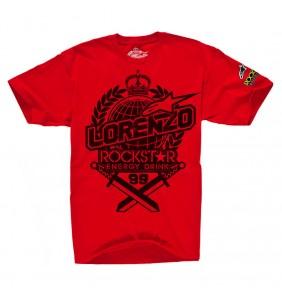 Camiseta Alpinestars Rockstar Jorge Lorenzo Prestige Red