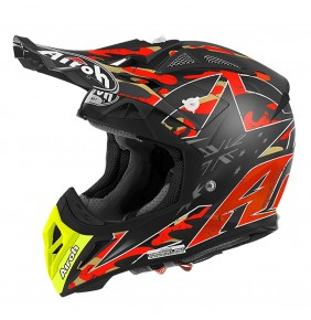 Casco Airoh Aviator 2.2 Réplica Phillips Orange Matt