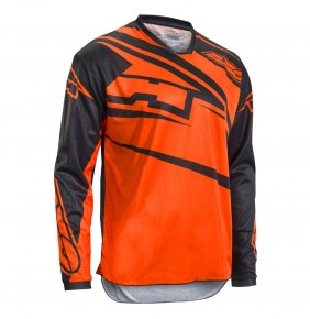 Camiseta Axo SR Jersey Black Orange