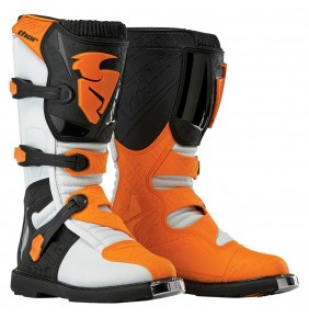 Botas Niño Thor Blitz White Orange