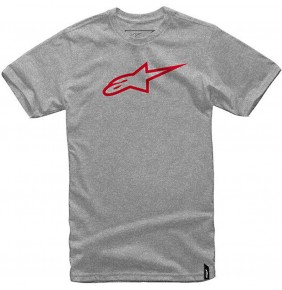 Camiseta Alpinestars Ageless Classic Grey / Red