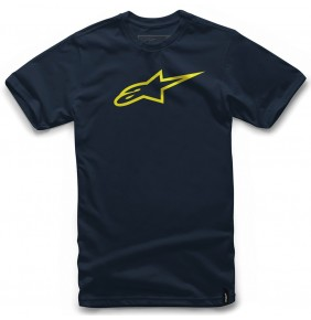 Camiseta Alpinestars Ageless Classic Navy / Yellow