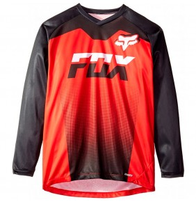 Camiseta Niño FOX LS Ranger Red black 2020