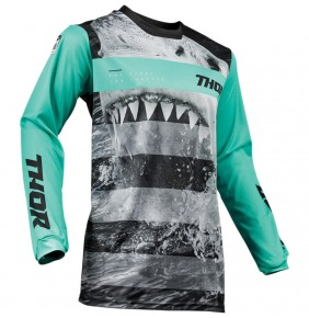Camiseta Niño Thor Pulse Savage Jaws Mint / Black