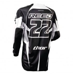 Camiseta Thor Signature Core Reed Black / White