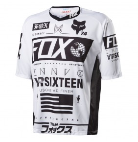 Camiseta Fox Demo Union White