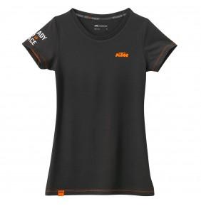 Camiseta KTM Girls Classic Tee Black