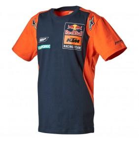 Camiseta Niño KTM Red Bull Alpinestars Replica Team